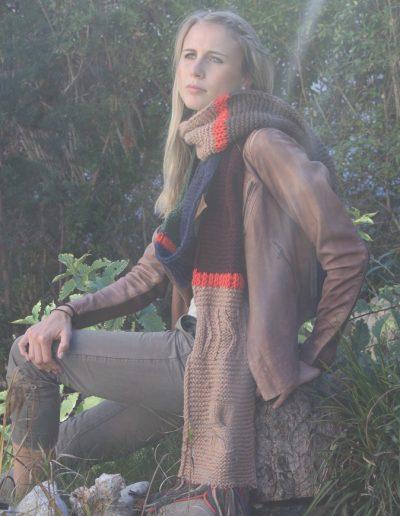 Cashmere-Schal in topmodischen Herbsttönen