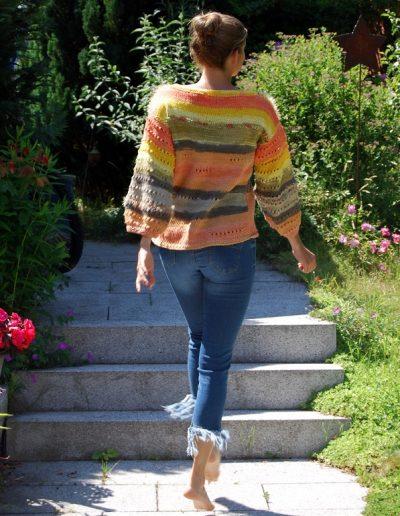 Herbstfarben-Pullover