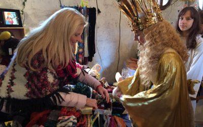 Weihnachtsmarkt im Kulturladen Schloss Almoshof 2018